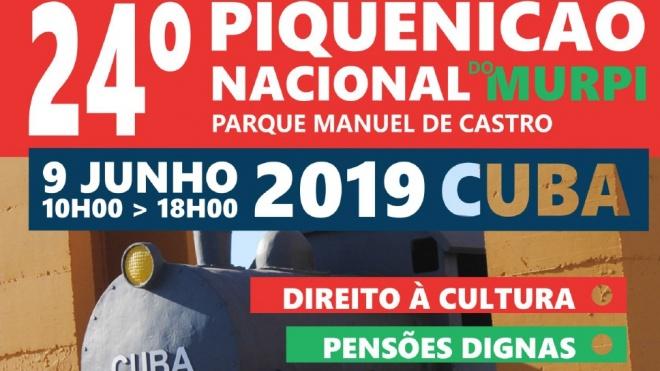 Cuba recebe hoje o 24ª Piquenicão Nacional do MURPI