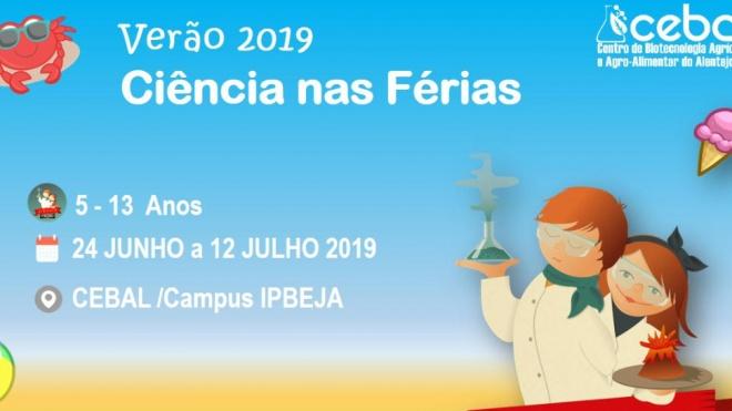 CEBAL promove Ciência à la Carte Verão 2019