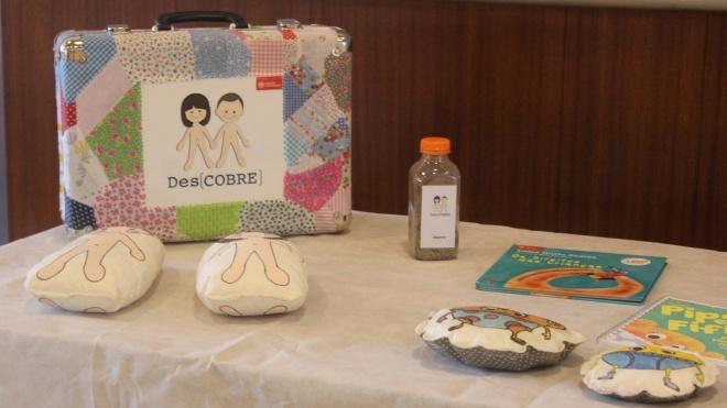 """Projeto """"Des(COBRE) o teu corpo"""" visitou o pré-escolar de Cuba"""