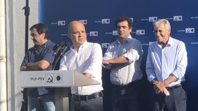 João Dias já começou a estabelecer contactos com a população de Beja