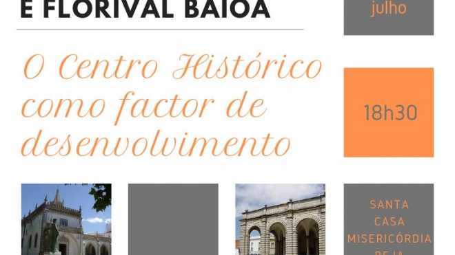 """O Centro Histórico como Factor de Desenvolvimento"""