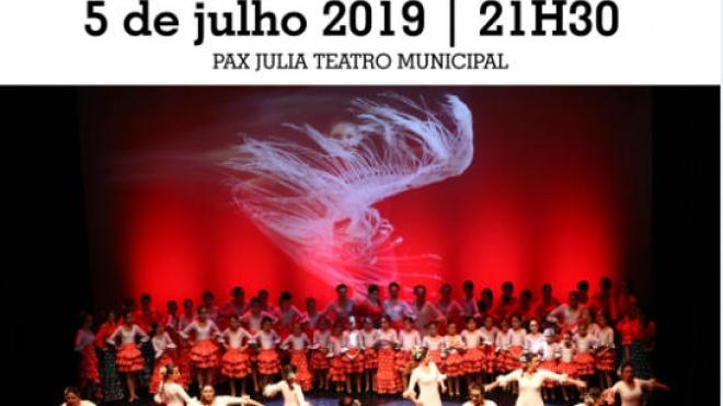 CRBA apresenta hoje espetáculo Final do Curso de Sevilhanas e Flamenco