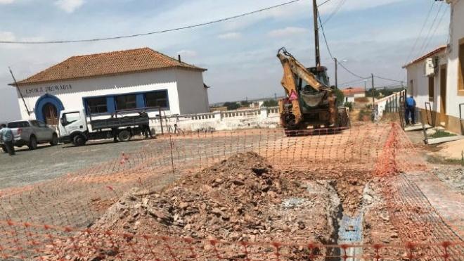 EMAS de Beja faz intervenção em Vale de Rossins