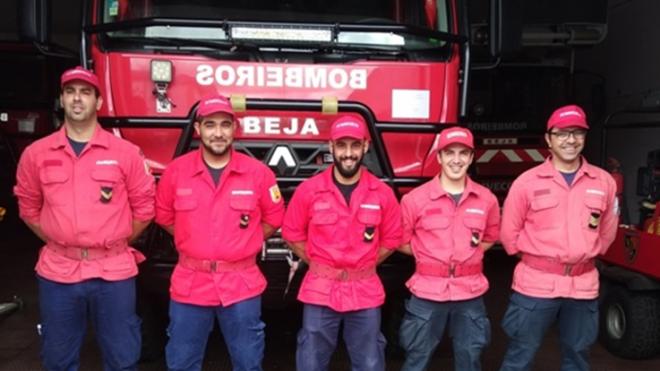 Bombeiros Voluntários de Beja reforçados com 5 elementos