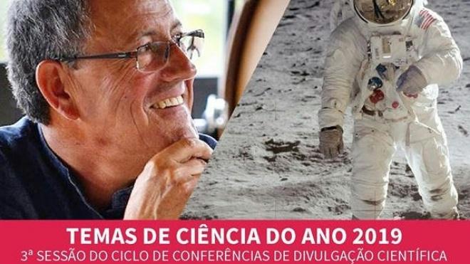 3ª sessão dos temas de ciência do ano 2019 é neste sábado com Máximo Ferreira