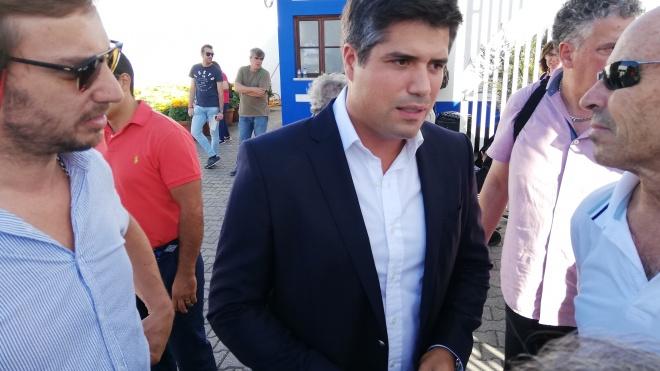 Rui Rio na apresentação da lista do PSD em Beja a 30 de Agosto