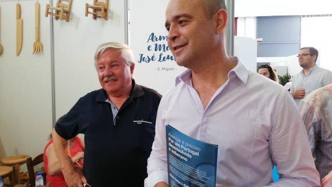 João Dias estabelece contactos na FACECO 2019