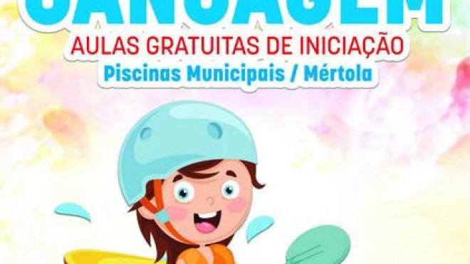 Aulas de canoagem gratuitas em Mértola