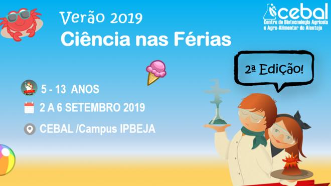 CEBAL promove 2ª edição do Ciência à la Carte Verão 2019