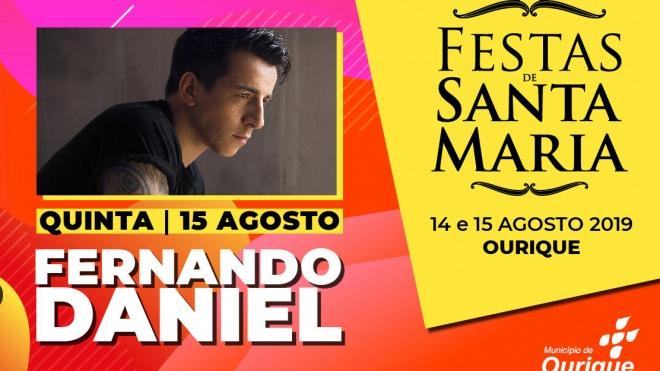 Fernando Daniel nas Festas de Santa Maria em Ourique