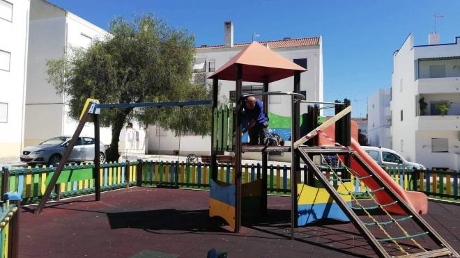 Beja: Manutenção de Parques Infantis