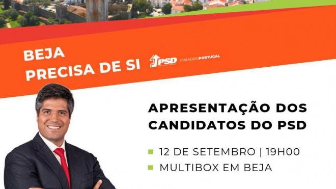 Beja: Jantar de apresentação dos candidatos do PSD