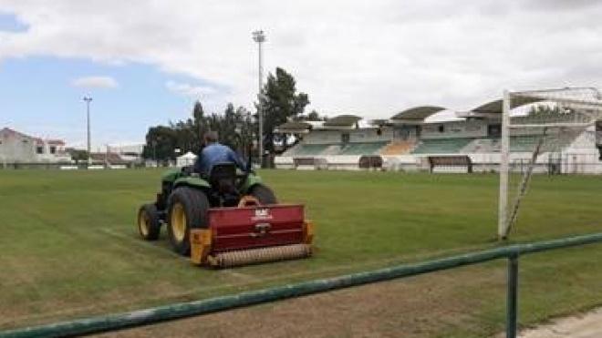 Intervenções no Estádio Municipal 25 de abril em Castro Verde