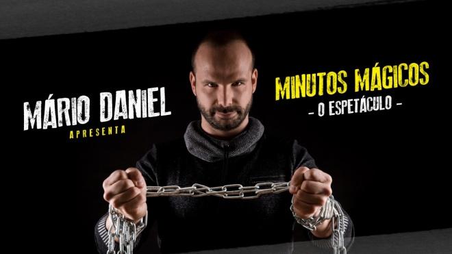 Espetáculo de magia com Mário Daniel no Pax Julia
