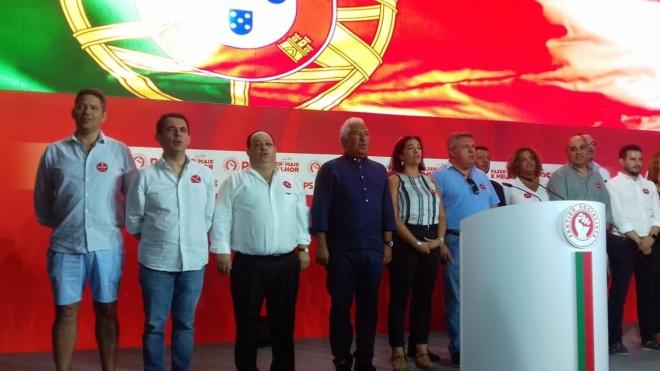 """António Costa: """"Vamos fazer o que ainda não foi feito"""""""