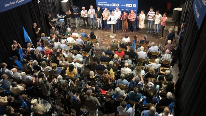 """Jerónimo de Sousa pediu em Beja """"mais votos e mais mandatos para a CDU"""""""