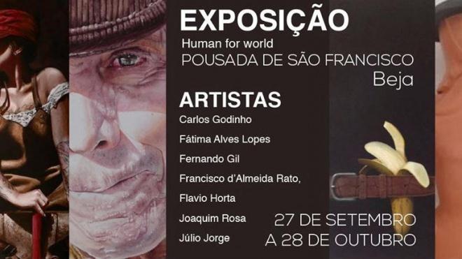 7 artistas alentejanos apresentam exposição na Pousada de S.Francisco