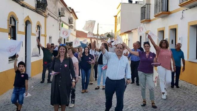 PS em campanha neste sábado no concelho de Beja