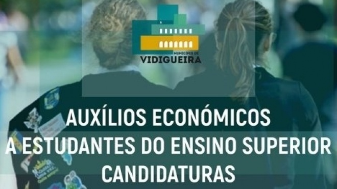 Vidigueira: auxílios económicos a estudantes do Ensino Superior