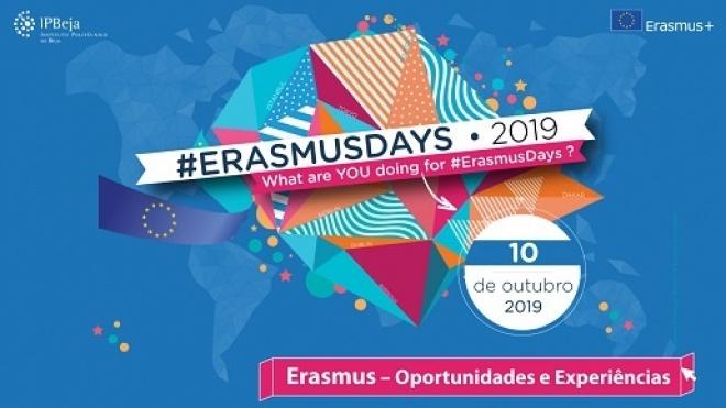 "IPBeja associa-se à iniciativa ""Erasmus Days 2019"""