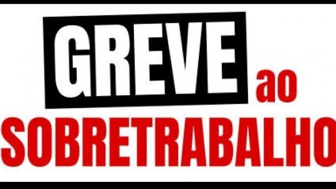 """Professores em greve ao """"sobretrabalho"""" por tempo indeterminado"""