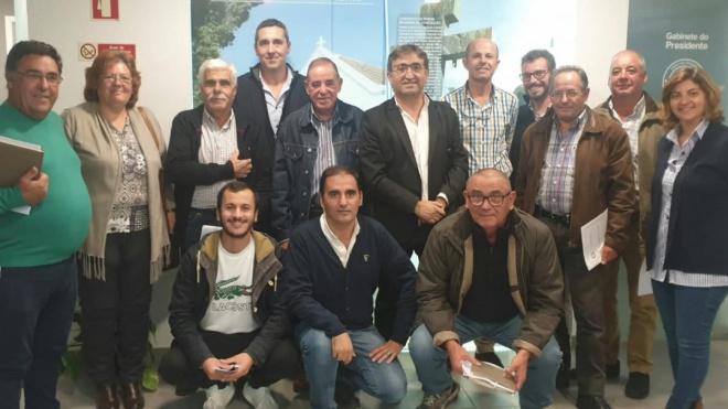 Delegação da ANAFRE reuniu-se com autarcas do concelho de Almodôvar
