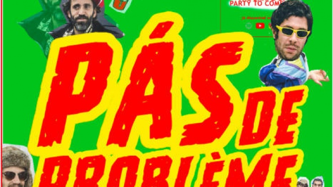 A banda Pás de Problème atua hoje em Beja