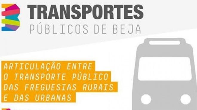 Beja: transporte público das freguesias rurais e das urbanas em articulação