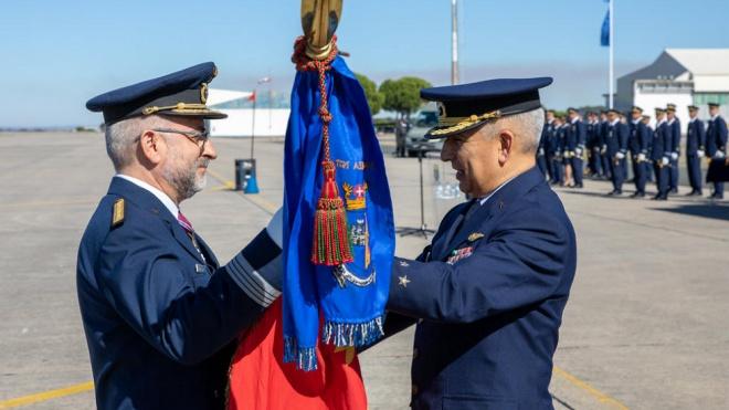 Coronel Paulo Costa é o novo Comandante da Base Aérea N.º 11