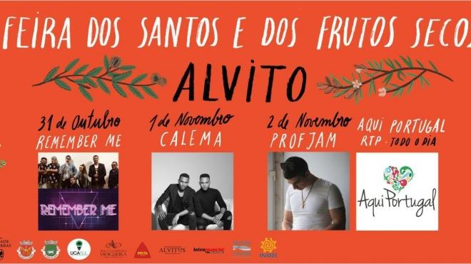 Alvito recebe até domingo a centenária Feira dos Santos e dos Frutos Secos