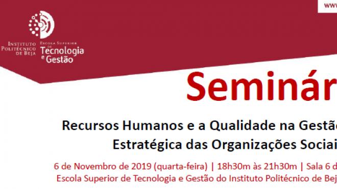 CTeSP de Gestão de Organizações Sociais organiza Seminário