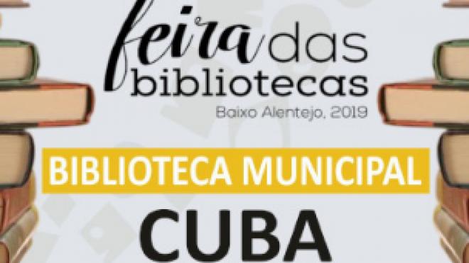 Feira das Bibliotecas em Cuba até 16 de novembro