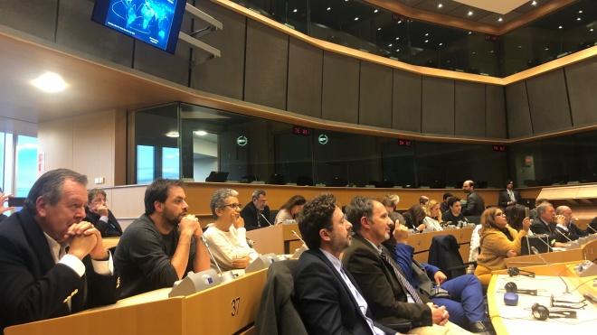 Comitiva do Alentejo recebe apoio dos eurodeputados em Bruxelas