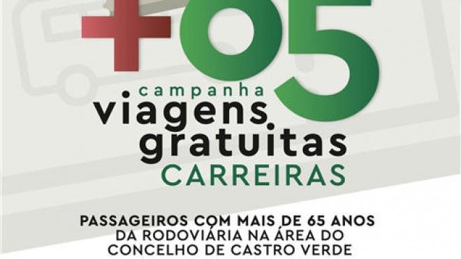 "Município castrense promove campanha ""Castro Verde +65"""