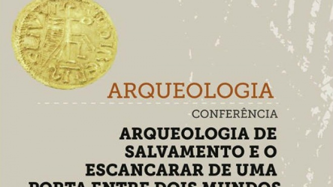 Conferência sobre arqueologia do Núcleo Museológico do Sembrano