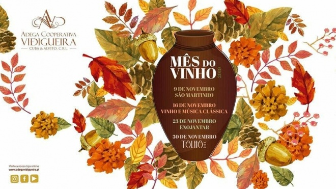 Mês do Vinho termina hoje em Vidigueira