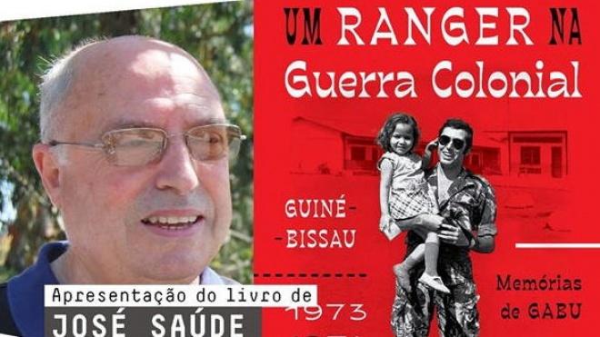 """Apresentação do livro """"Um ranger na Guerra Colonial"""""""