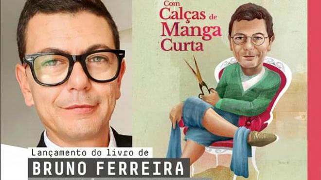 """Bruno Ferreira apresenta em Beja """"Com calças de manga curta"""""""