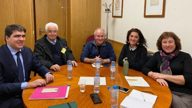 AMAlentejo reuniu-se com grupos parlamentares