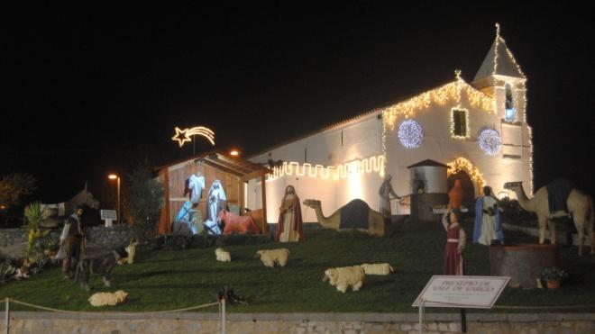 Presépio em tamanho real para apreciar em Vale de Vargo até 6 de janeiro
