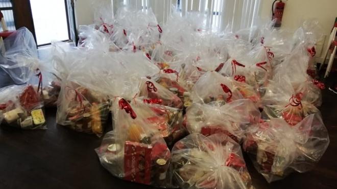 Aljustrel: distribuição de cabazes de Natal