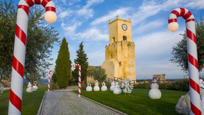 Hoje ainda pode visitar o Castelo Encantado em Moura