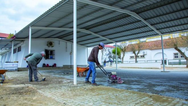 Câmara de Moura realizou intervenção em estabelecimento escolar