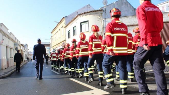 Bombeiros de Aljustrel comemoram 71 anos