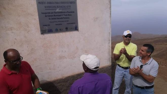 ADPM: energia eléctrica renovável chegou a Pascoal Alves-Cabo Verde