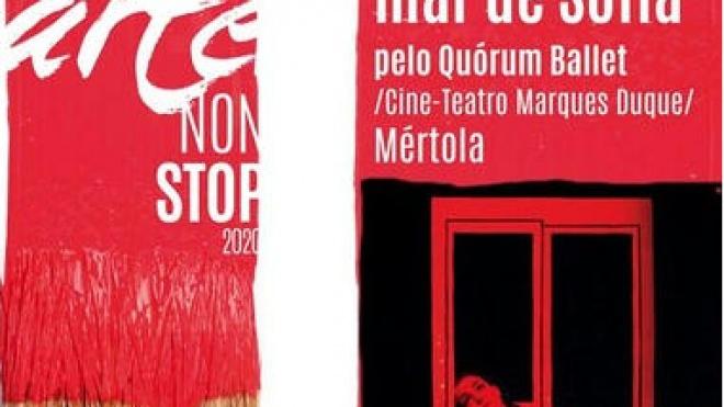 "Espectáculo de dança encerra ""Arte Non Stop"" em Mértola"