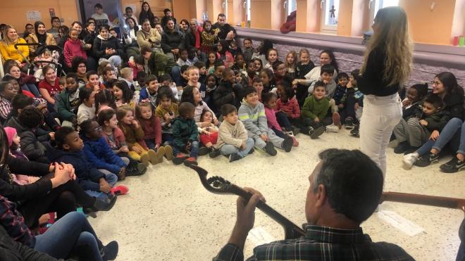 """""""Patrimónios Imateriais"""" apresentam-se às escolas do Luxemburgo"""