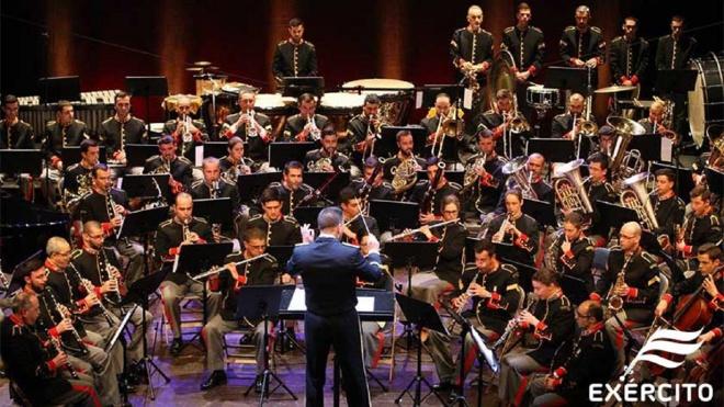 Concerto da Banda Sinfónica do Exército no Pax Julia