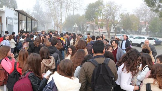 Serpa: manifestação contra degradação da Escola Secundária