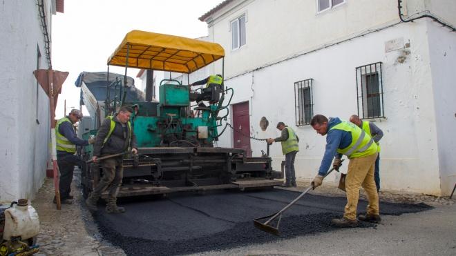 Reabilitação de Pavimentos em Stº Aleixo da Restauração e em Safara